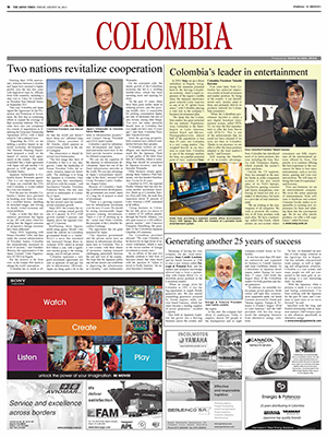 Global Media Post: Colombia (Aug. 30, 2013)