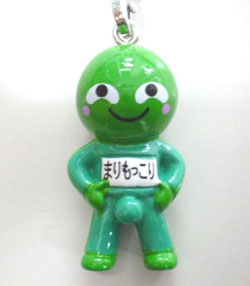 Marimokkori, originally created as a character representing round green algae in  Hokkaido, has gained popularity